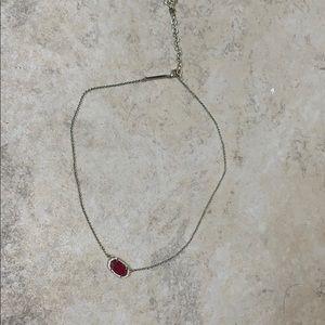 Kendra Scott gold Elisa necklace